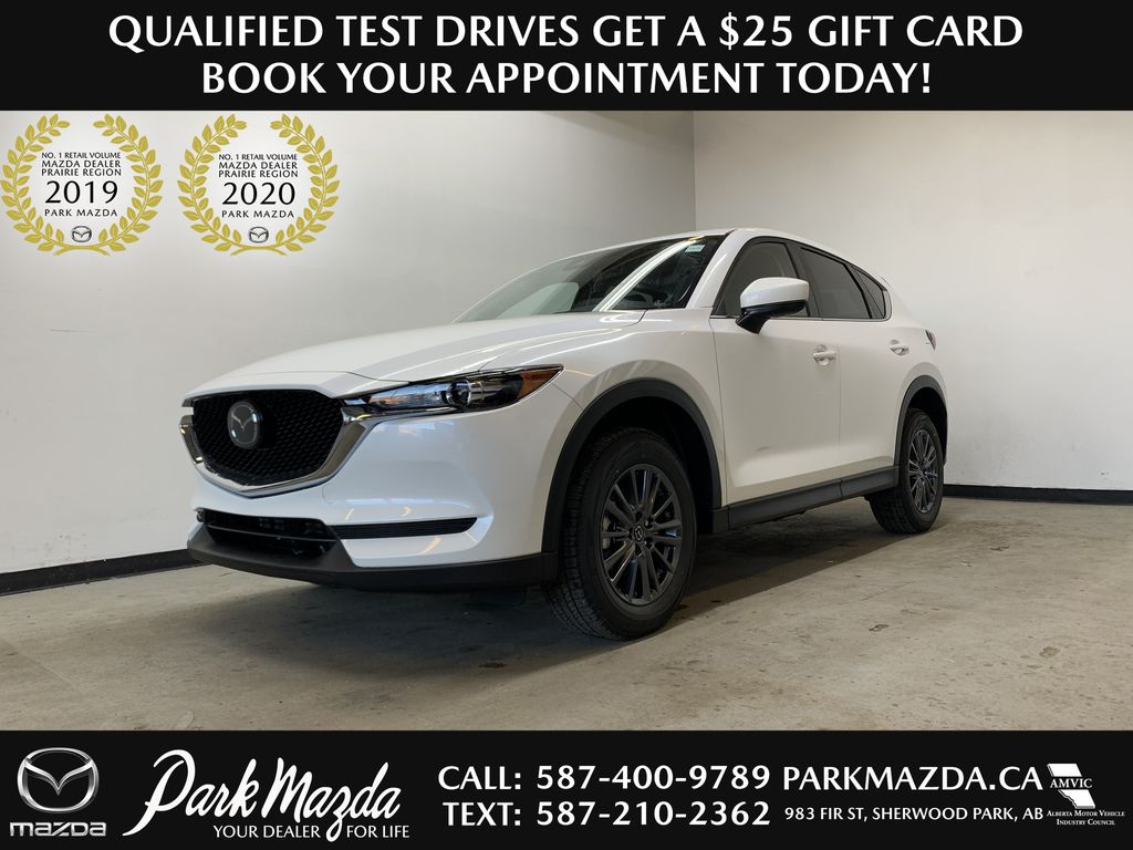 SNOW FLAKE WHITE PEARL(25D) 2021 Mazda CX-5