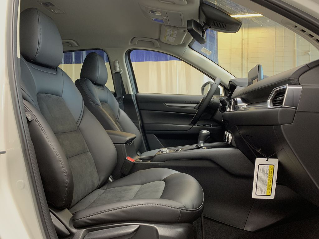 SNOW FLAKE WHITE PEARL(25D) 2021 Mazda CX-5 Right Side Front Seat  Photo in Edmonton AB