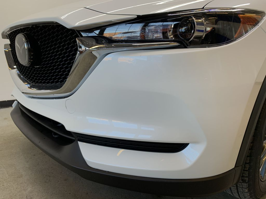 SNOW FLAKE WHITE PEARL(25D) 2021 Mazda CX-5 Left Front Head Light / Bumper and Grill in Edmonton AB