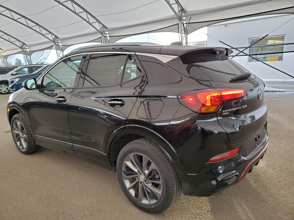 Black 2021 Buick Encore GX Trunk / Cargo Area Photo in Airdrie AB