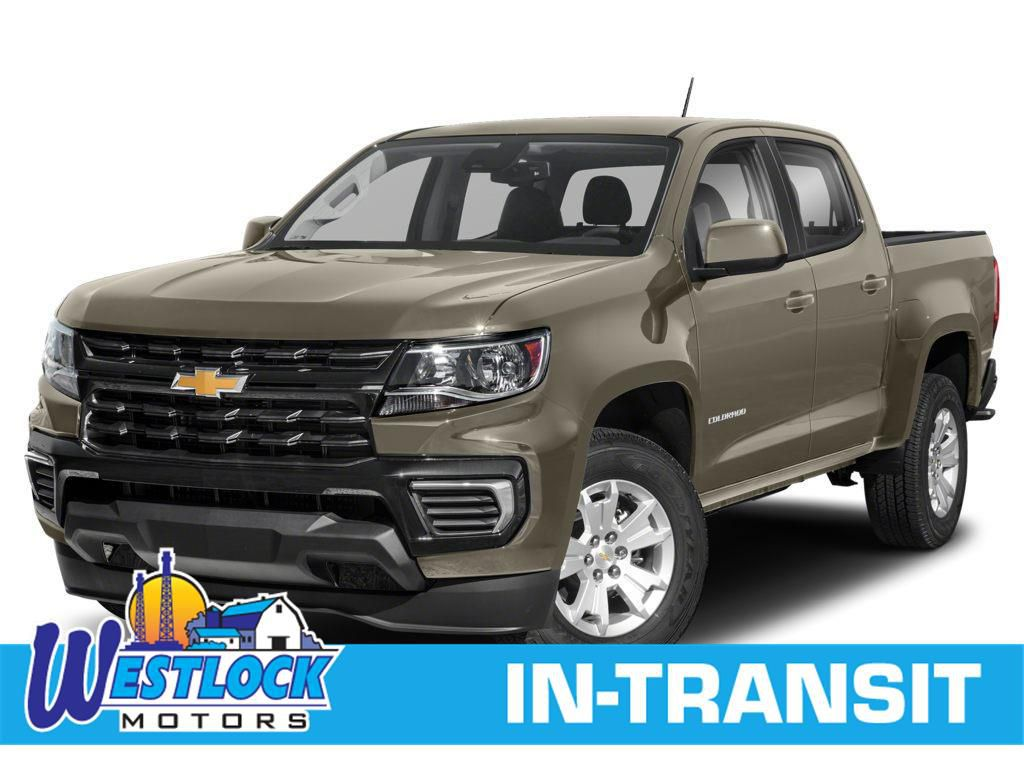 Tan 2021 Chevrolet Colorado