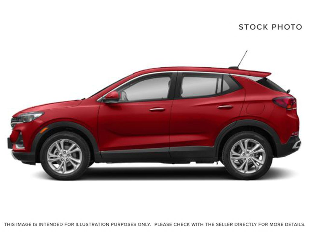 Chili Red Metallic 2021 Buick Encore GX Left Side Photo in Oshawa ON