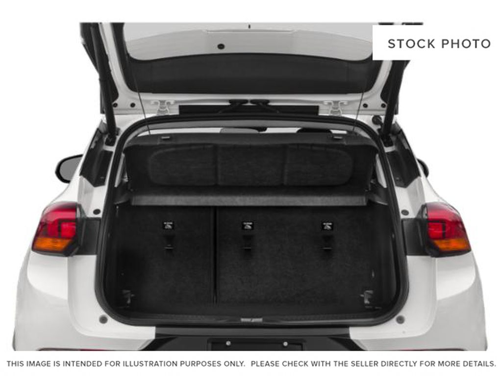 White Frost Tricoat 2021 Buick Encore GX Trunk / Cargo Area Photo in Oshawa ON