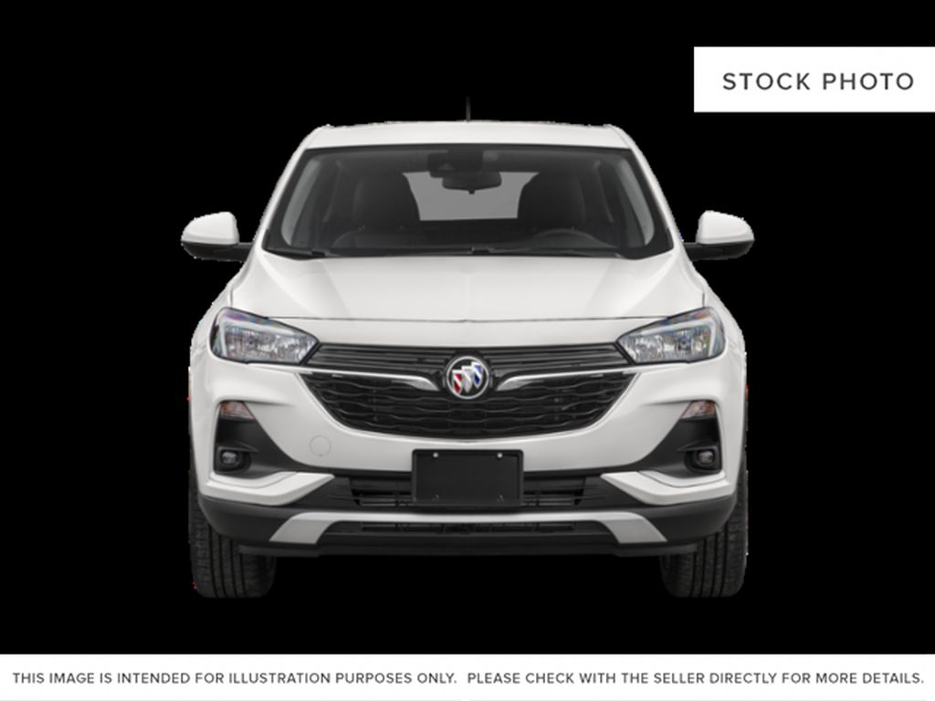 White Frost Tricoat 2021 Buick Encore GX Front Vehicle Photo in Oshawa ON