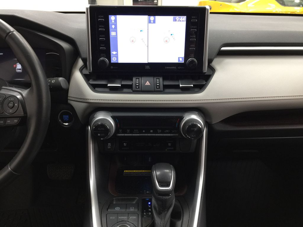 Gray[Magnetic Grey Metallic] 2019 Toyota RAV4 Limited AWD Central Dash Options Photo in Sherwood Park AB
