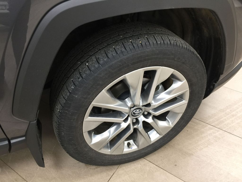 Gray[Magnetic Grey Metallic] 2019 Toyota RAV4 Limited AWD Right Front Rim and Tire Photo in Sherwood Park AB