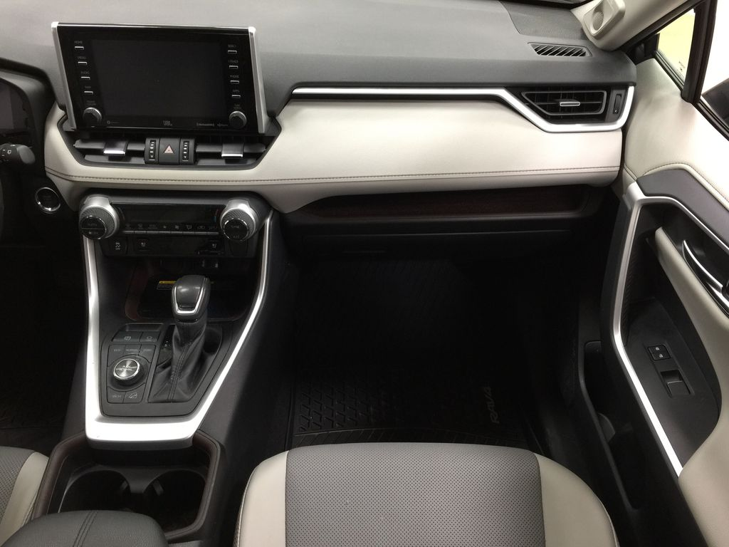 Gray[Magnetic Grey Metallic] 2019 Toyota RAV4 Limited AWD Right Front Seat Photo in Sherwood Park AB