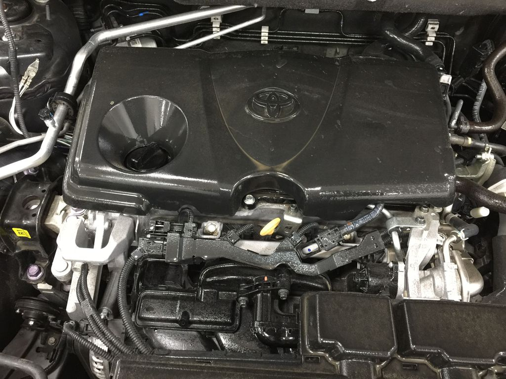 Gray[Magnetic Grey Metallic] 2019 Toyota RAV4 Limited AWD Engine Compartment Photo in Sherwood Park AB