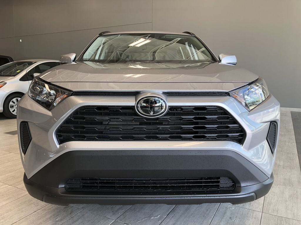 Silver Sky Metallic 2021 Toyota RAV4 LE FWD Odometer Photo in Edmonton AB