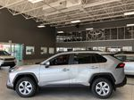 Silver Sky Metallic 2021 Toyota RAV4 LE FWD Left Side Photo in Edmonton AB