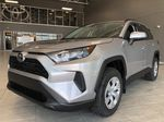 Silver Sky Metallic 2021 Toyota RAV4 LE FWD Left Side Rear Seat  Photo in Edmonton AB