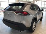 Silver Sky Metallic 2021 Toyota RAV4 LE FWD Rear of Vehicle Photo in Edmonton AB