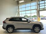 Silver Sky Metallic 2021 Toyota RAV4 LE FWD Right Rear Corner Photo in Edmonton AB