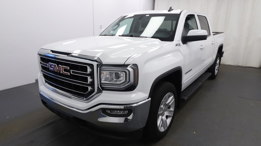 White 2018 GMC Sierra 1500 Left Front Head Light / Bumper and Grill in Lethbridge AB