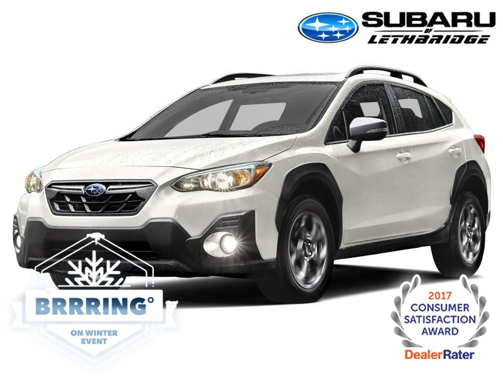 White 2021 Subaru Crosstrek