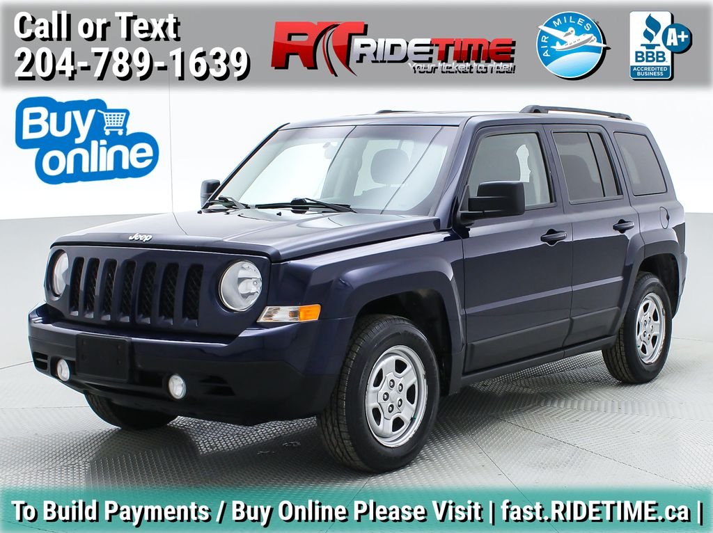 Blue[True Blue Pearlcoat] 2014 Jeep Patriot North - Alloy Wheels, AUTO, ALL CREDIT APPROVED