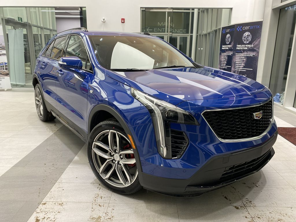 Blue[Wave Metallic] 2021 Cadillac XT4