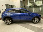 Blue[Wave Metallic] 2021 Cadillac XT4 Right Side Photo in Edmonton AB