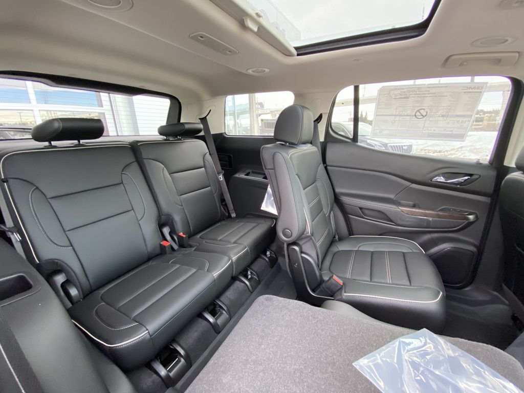 Red[Cayenne Red Tintcoat] 2021 GMC Acadia Denali Right Side Rear Seat  Photo in Calgary AB
