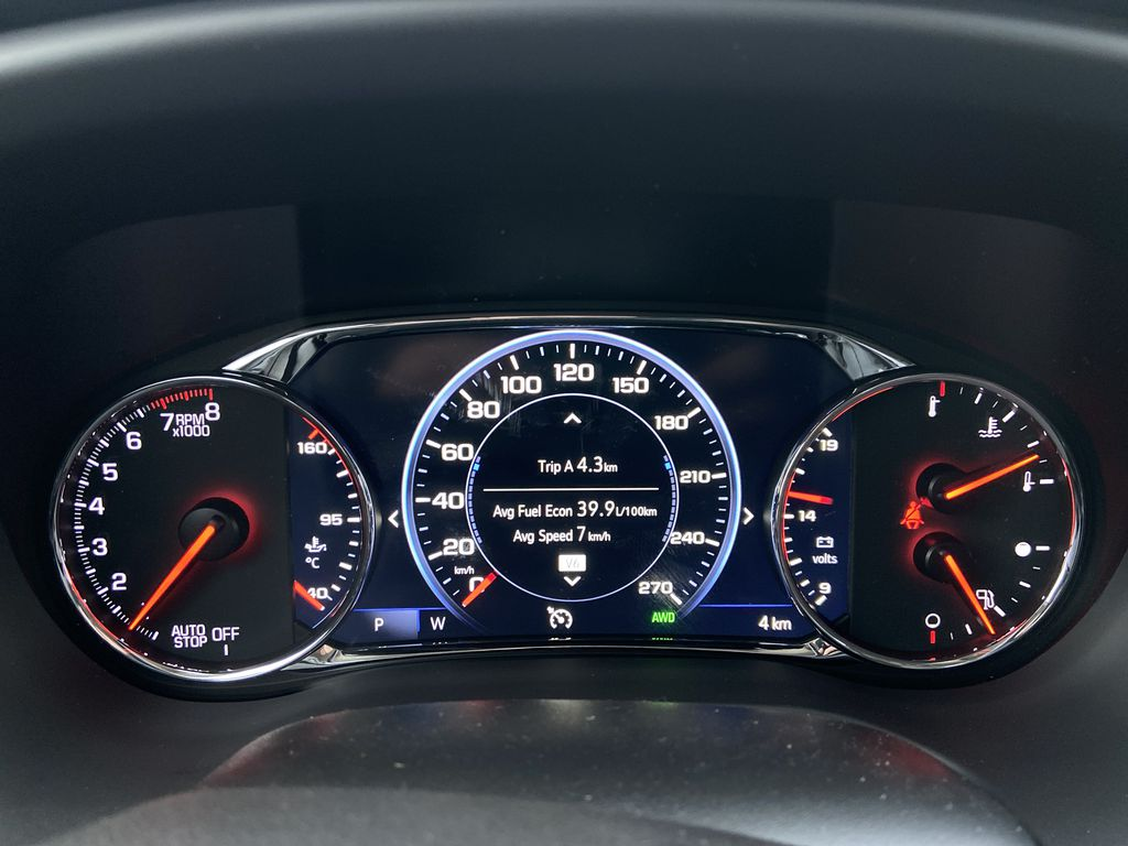 Red[Cayenne Red Tintcoat] 2021 GMC Acadia Denali Odometer Photo in Calgary AB