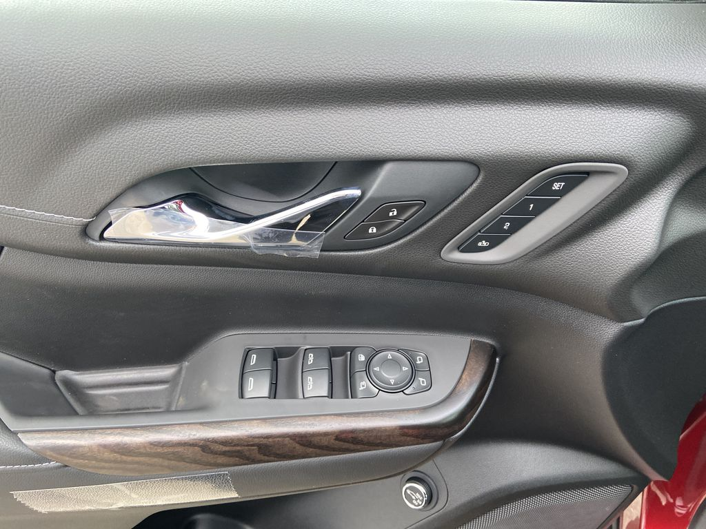 Red[Cayenne Red Tintcoat] 2021 GMC Acadia Denali  Driver's Side Door Controls Photo in Calgary AB