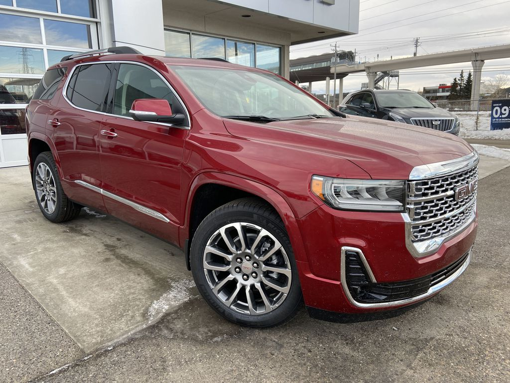 Red[Cayenne Red Tintcoat] 2021 GMC Acadia Denali