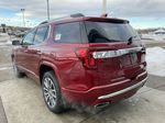 Red[Cayenne Red Tintcoat] 2021 GMC Acadia Denali Left Rear Corner Photo in Calgary AB