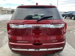 Red[Cayenne Red Tintcoat] 2021 GMC Acadia Denali Rear of Vehicle Photo in Calgary AB