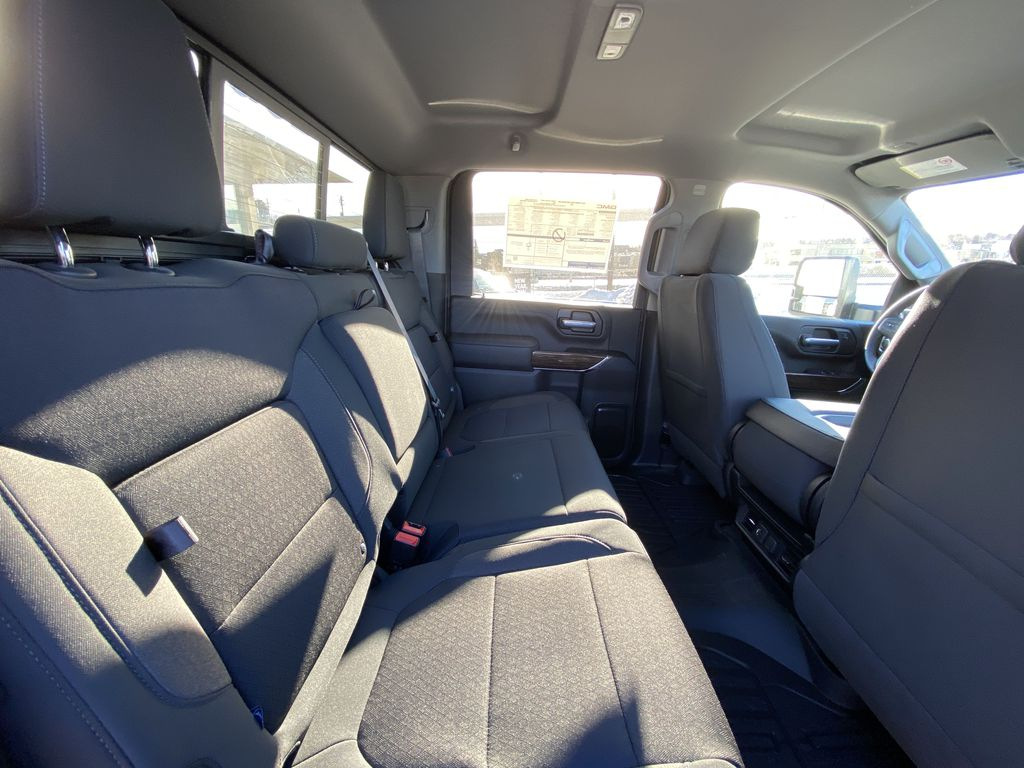 White[Summit White] 2021 GMC Sierra 2500HD SLE Right Side Rear Seat  Photo in Calgary AB