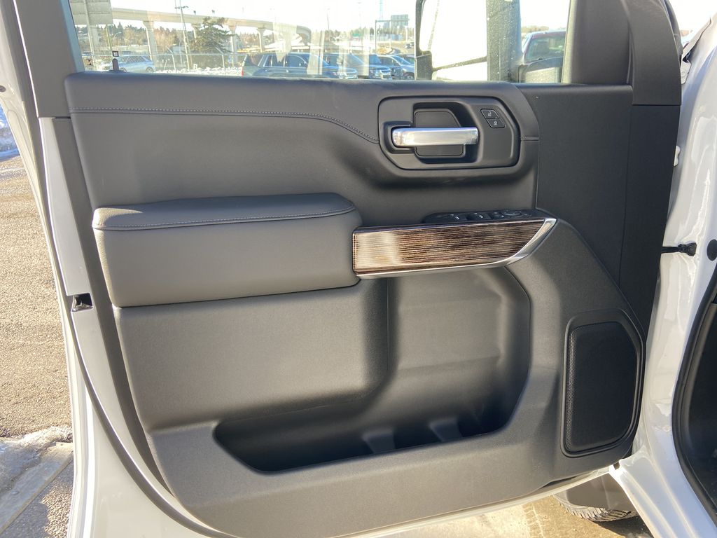 White[Summit White] 2021 GMC Sierra 2500HD SLE Left Front Interior Door Panel Photo in Calgary AB