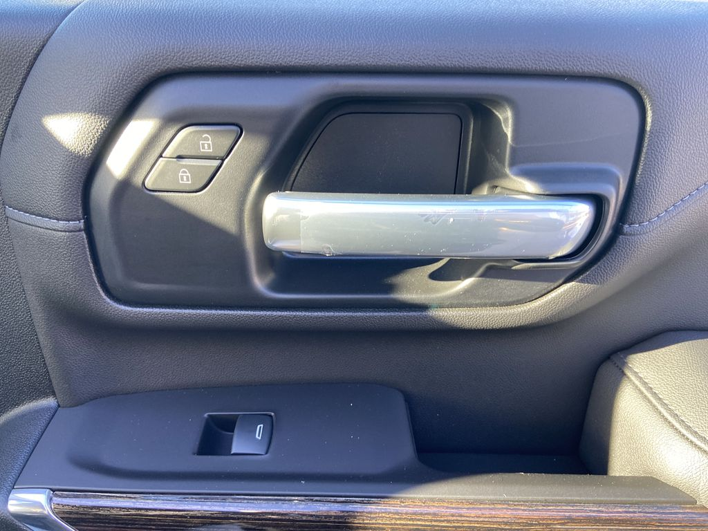 White[Summit White] 2021 GMC Sierra 2500HD SLE Passenger Front Door Controls Photo in Calgary AB