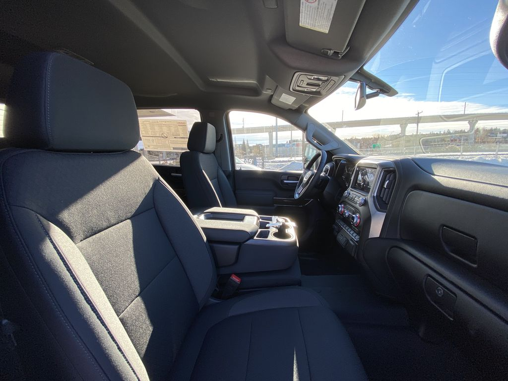 White[Summit White] 2021 GMC Sierra 2500HD SLE Right Side Front Seat  Photo in Calgary AB