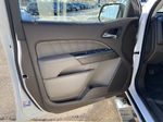 White[Summit White] 2021 GMC Canyon Denali Left Front Interior Door Panel Photo in Calgary AB