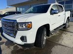 White[Summit White] 2021 GMC Canyon Denali Left Front Head Light / Bumper and Grill in Calgary AB