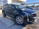 Black[Stellar Black Metallic] 2021 Cadillac XT5 Sport Primary Listing Photo in Calgary AB
