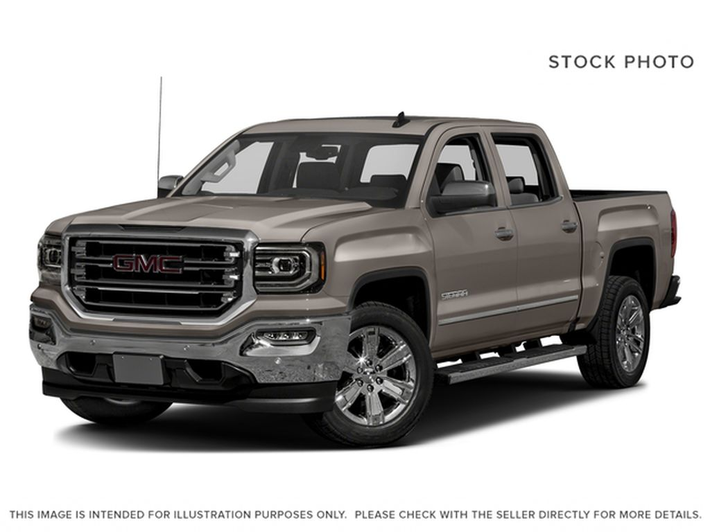 Brown[Pepperdust Metallic] 2017 GMC Sierra 1500