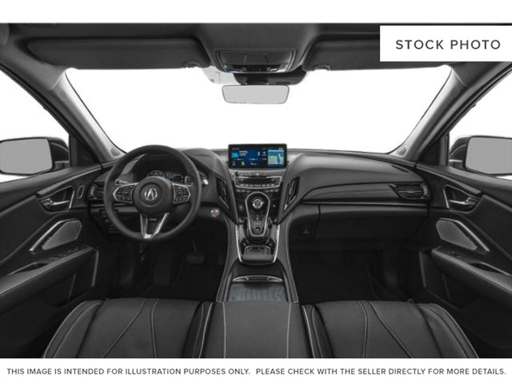 WHITE/ NH-883P 2021 Acura RDX Front Seats and Dash Photo in Kelowna BC