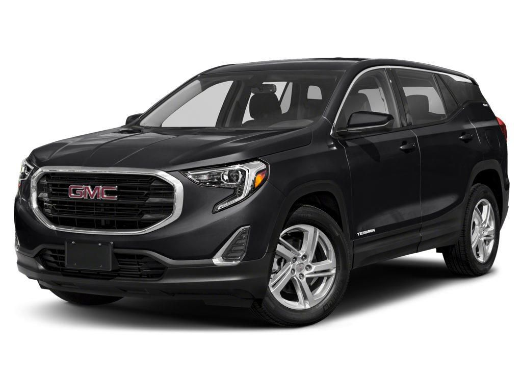 Black 2021 GMC Terrain