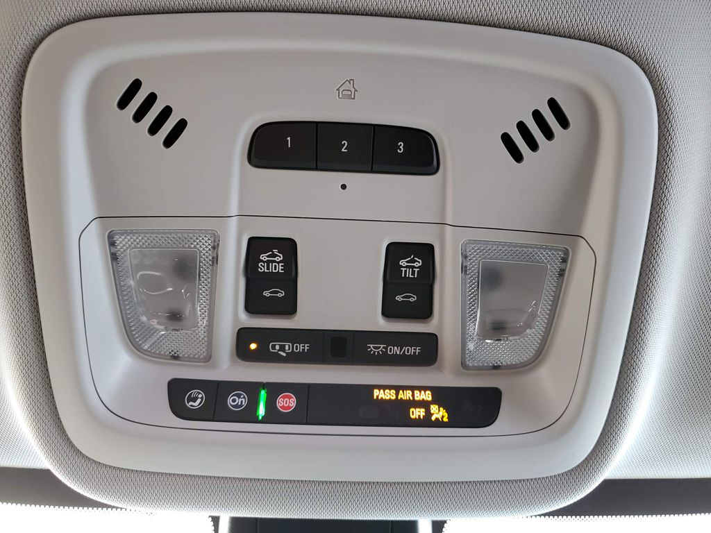 Red 2021 Chevrolet Traverse Central Dash Options Photo in Airdrie AB