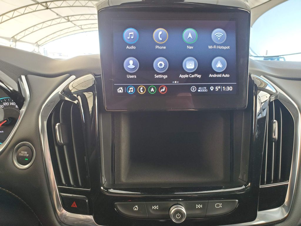 Red 2021 Chevrolet Traverse Left Rear Corner Photo in Airdrie AB