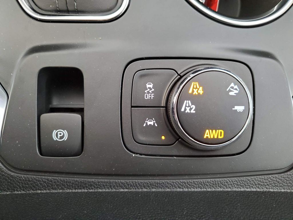 Red 2021 Chevrolet Traverse Steering Wheel and Dash Photo in Airdrie AB
