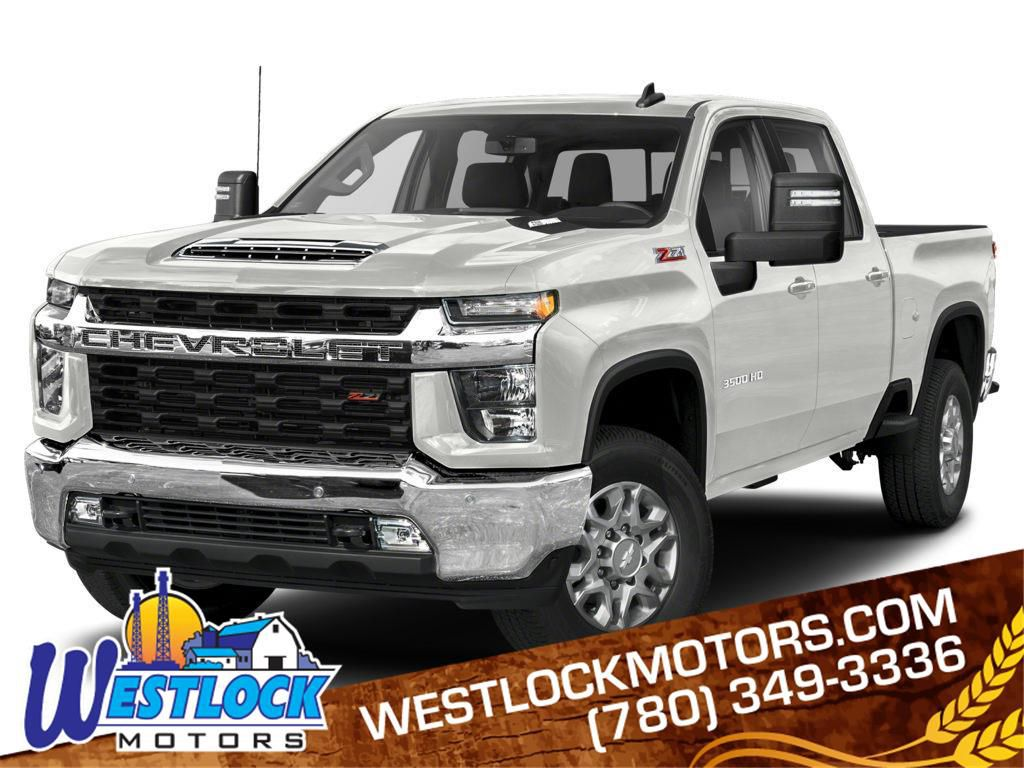 White 2021 Chevrolet Silverado 3500HD