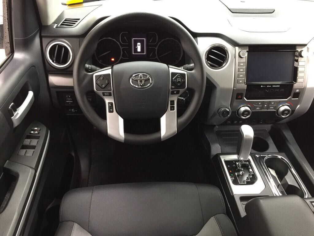 White[Super White] 2021 Toyota Tundra TRD Off-Road Left Front Seat Photo in Sherwood Park AB