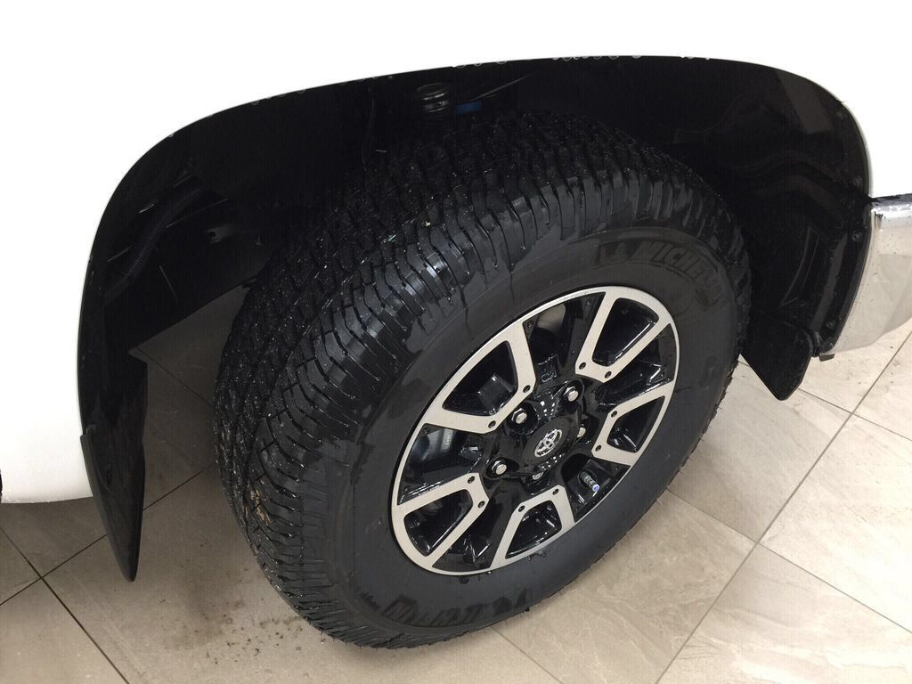 White[Super White] 2021 Toyota Tundra TRD Off-Road Right Front Rim and Tire Photo in Sherwood Park AB