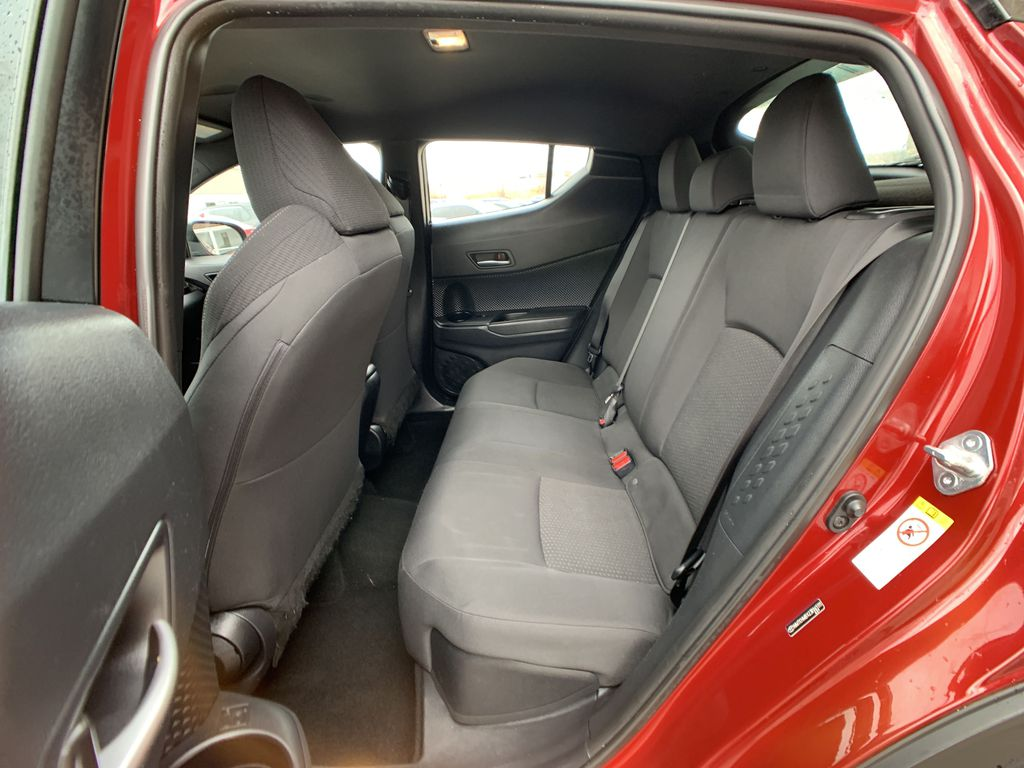 Red 2018 Toyota C-HR Rear of Vehicle Photo in Brampton ON