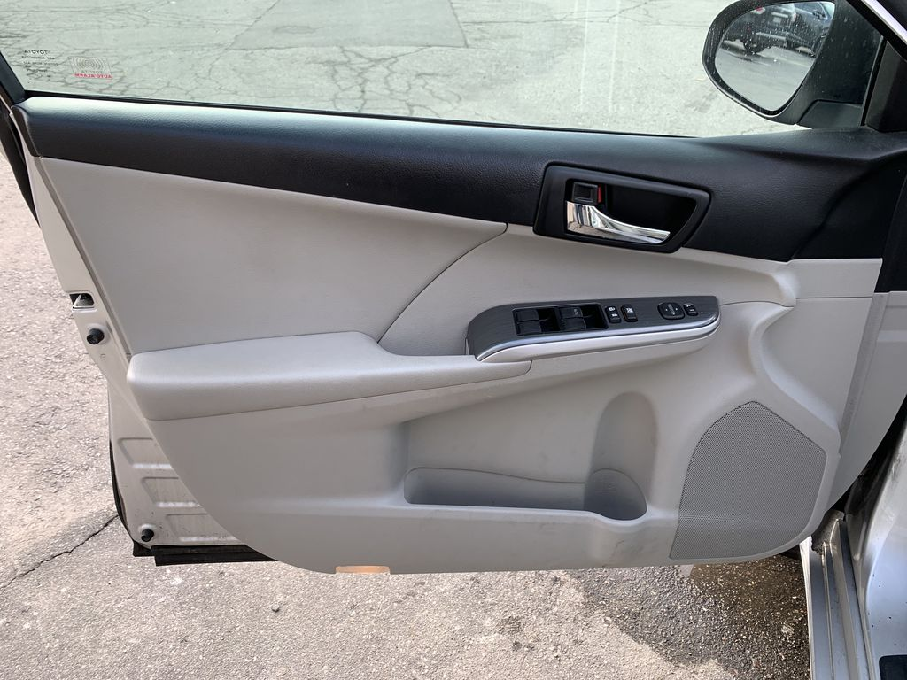 Silver 2014 Toyota Camry Hybrid Left Rear Interior Door Panel Photo in Brampton ON