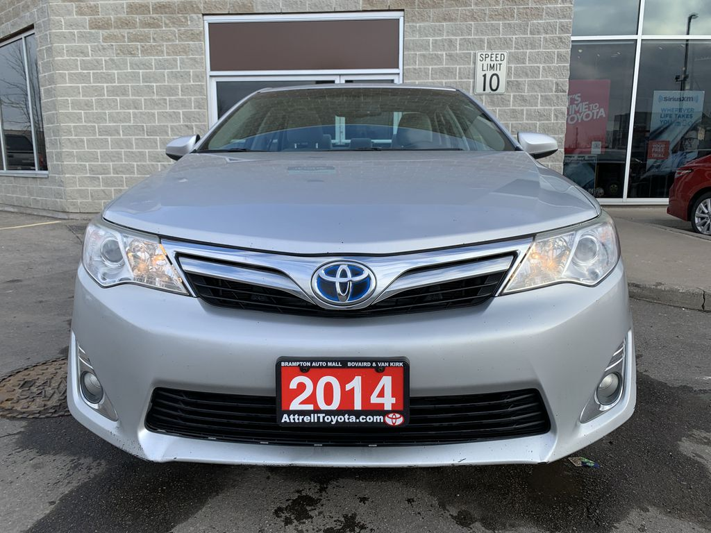 Silver 2014 Toyota Camry Hybrid Left Side Photo in Brampton ON