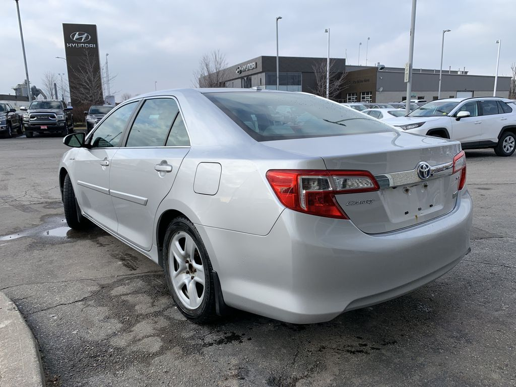 Silver 2014 Toyota Camry Hybrid Left Front Interior Door Panel Photo in Brampton ON