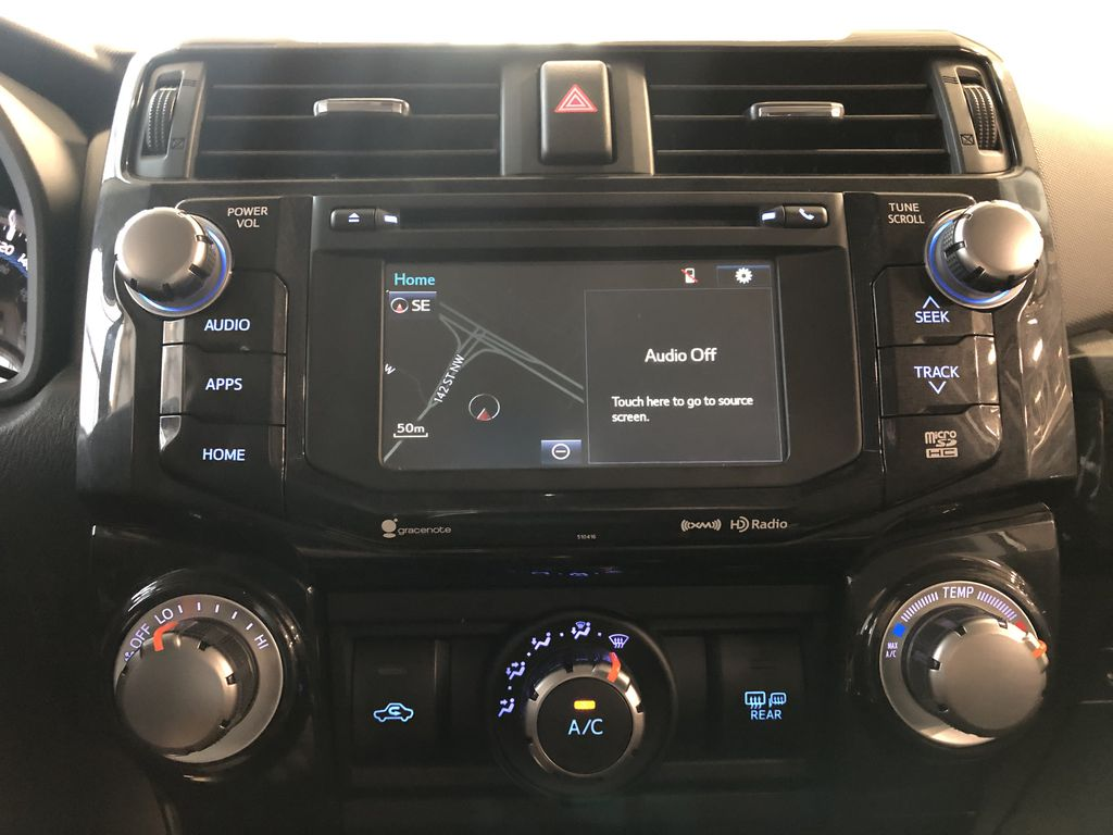 White 2019 Toyota 4Runner TRD Off Road Front Vehicle Photo in Edmonton AB