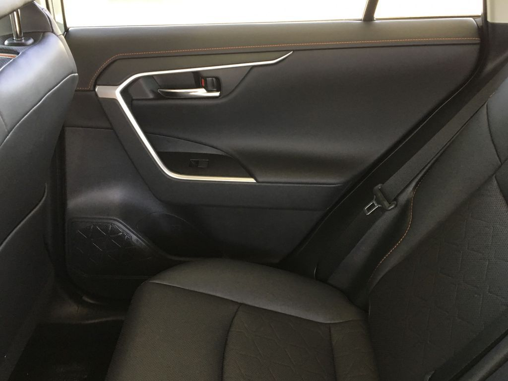 Gray[Lunar Rock/Ice Edge Roof] 2021 Toyota RAV4 Right Rear Interior Door Panel Photo in Kelowna BC